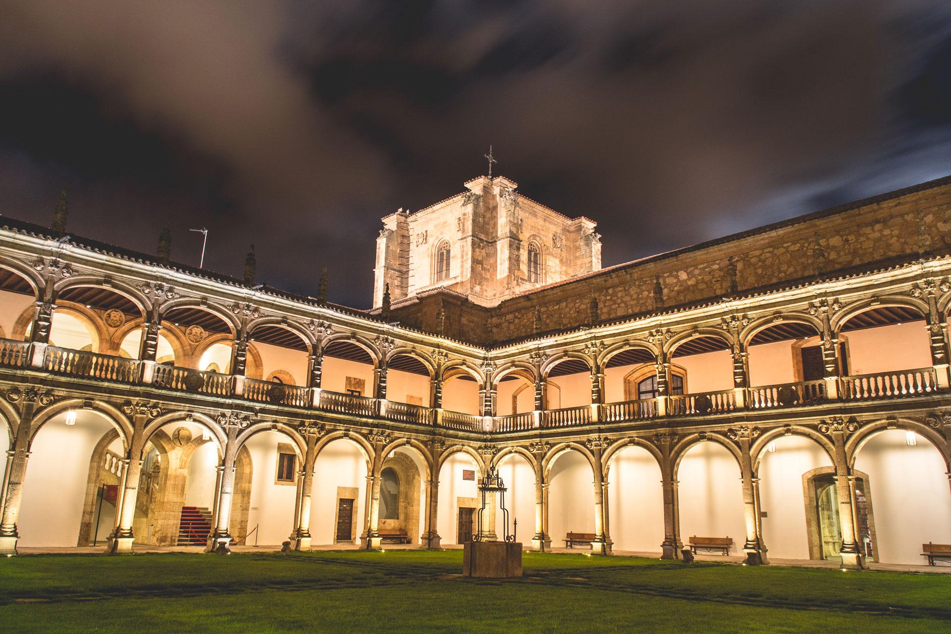 Claustro del Colegio Fonseca