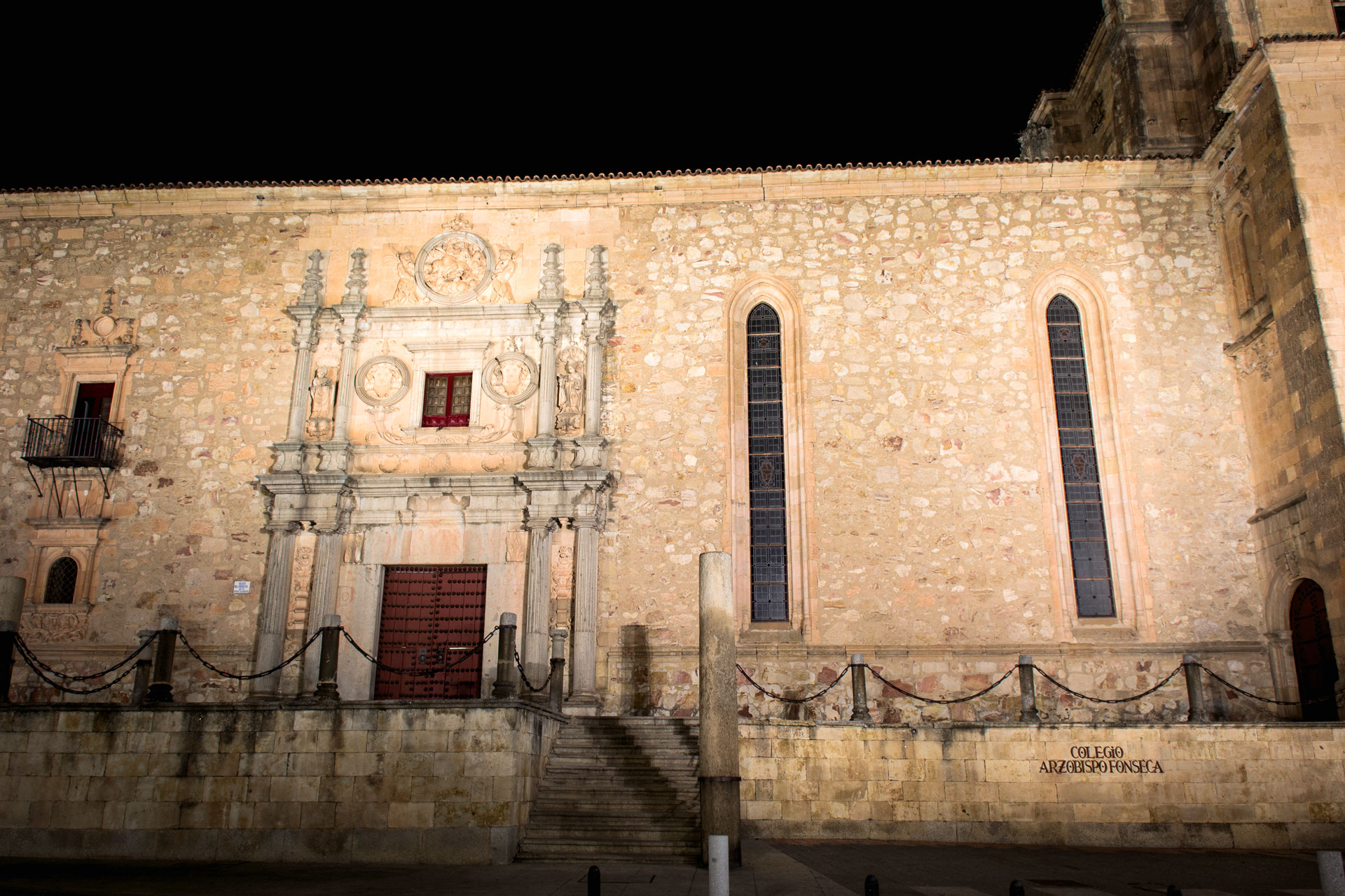 Fachada Colegio Arzobispo Fonseca